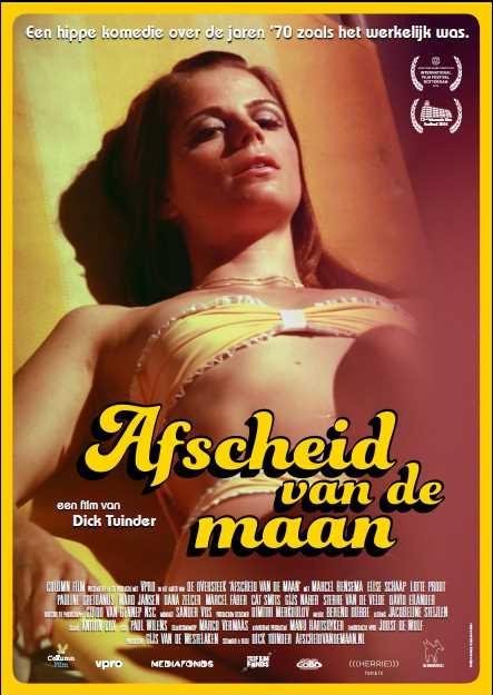 Afscheid van de Maan poster, copyright in handen van productiestudio en/of distributeur