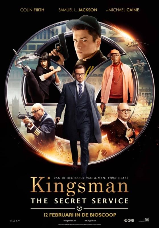 The Kingsman: The Secret Service poster, © 2014 20th Century Fox