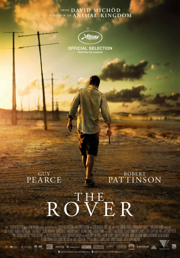The Rover poster, © 2013 Entertainment One Benelux