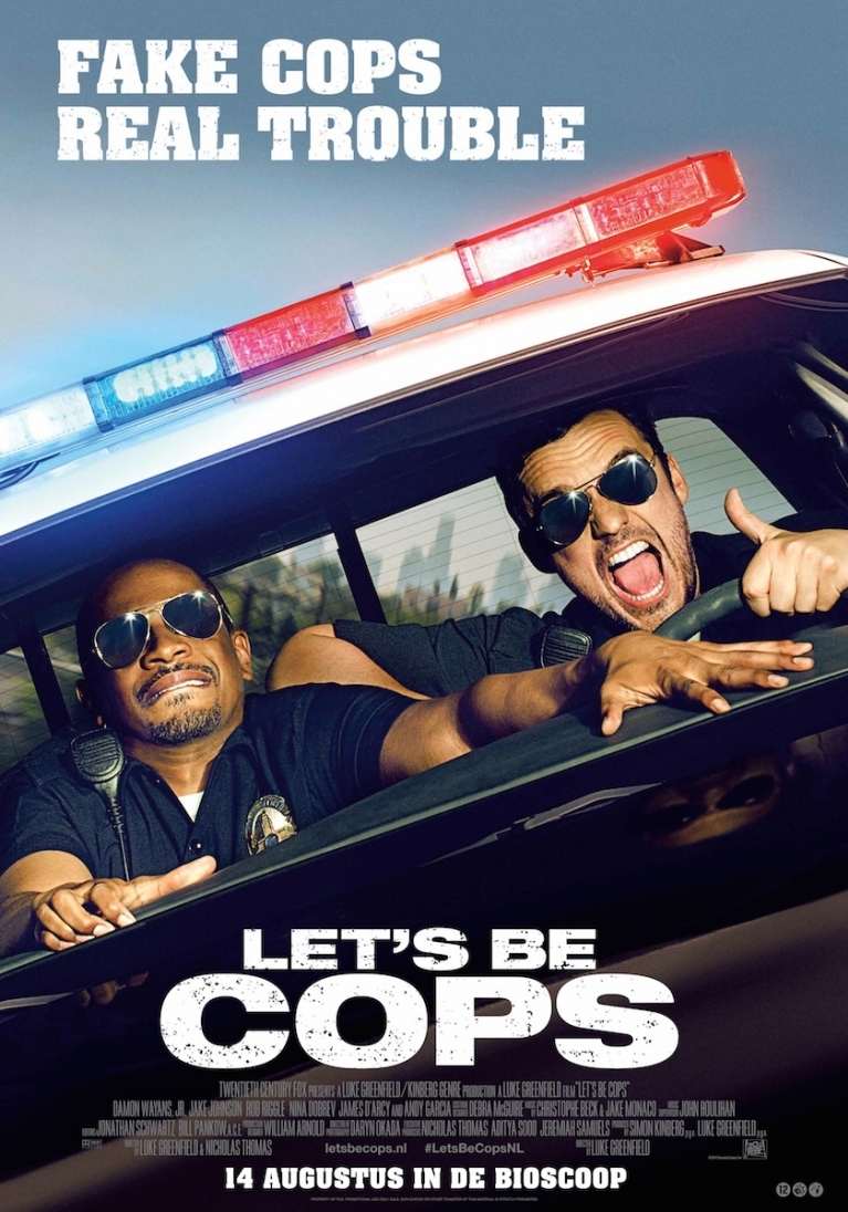 Let's Be Cops poster, © 2014 20th Century Fox