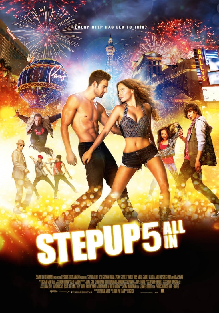 Step Up: All In poster, © 2014 Independent Films