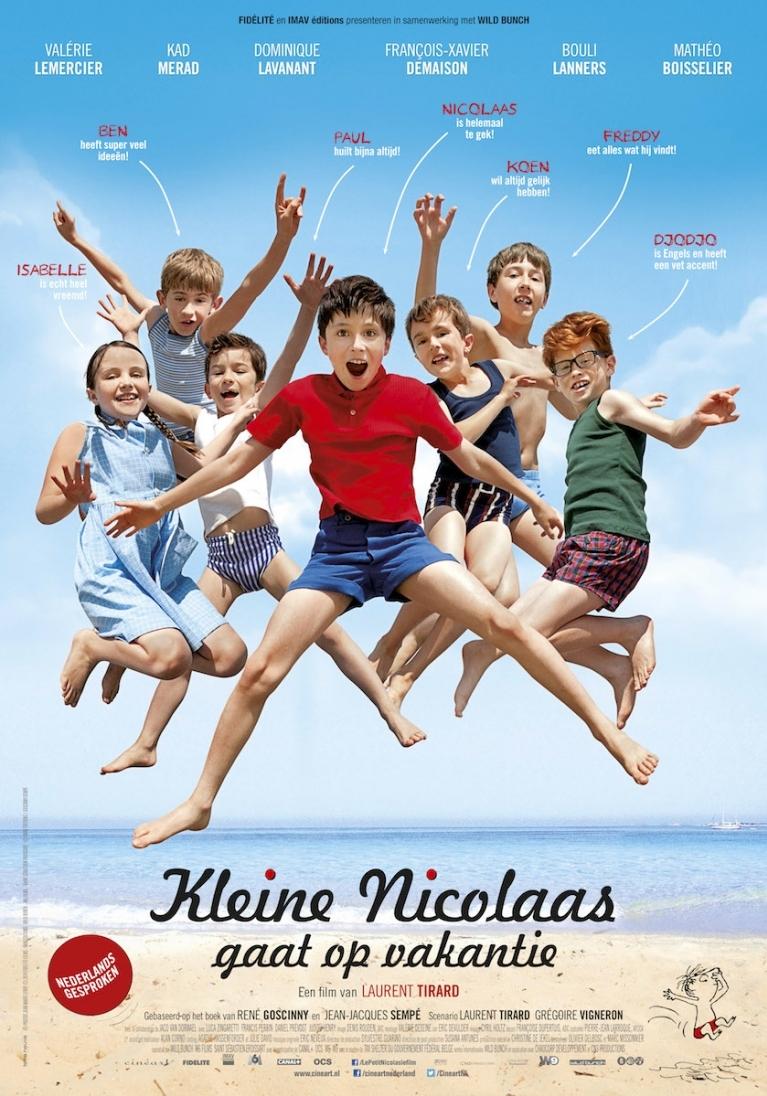 Les vacances du petit Nicolas poster, © 2014 Cinéart