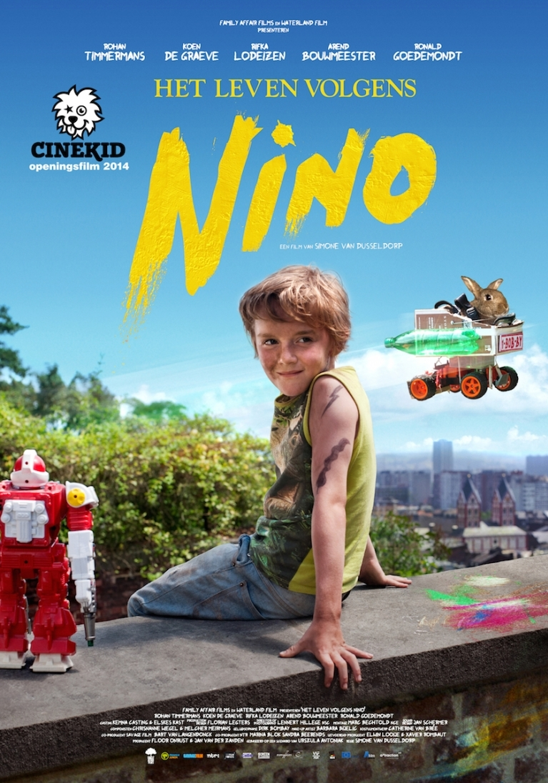 Het leven volgens Nino poster, © 2014 A-Film Distribution
