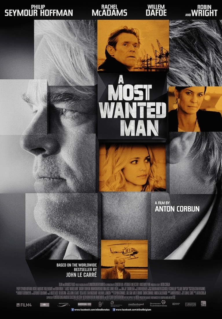 A Most Wanted Man poster, © 2013 E1 Entertainment Benelux