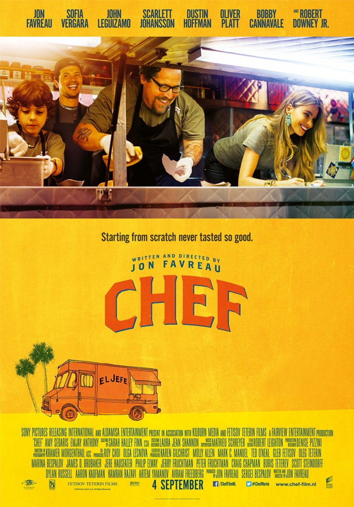 Chef poster, © 2014 Universal Pictures