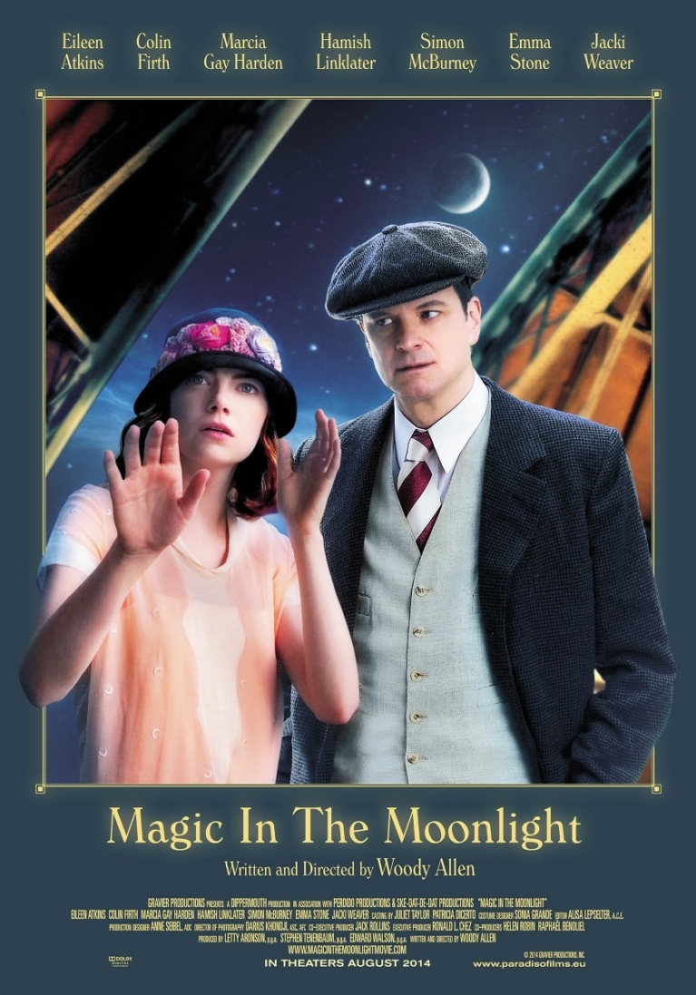 Magic in the Moonlight poster, © 2014 Paradiso