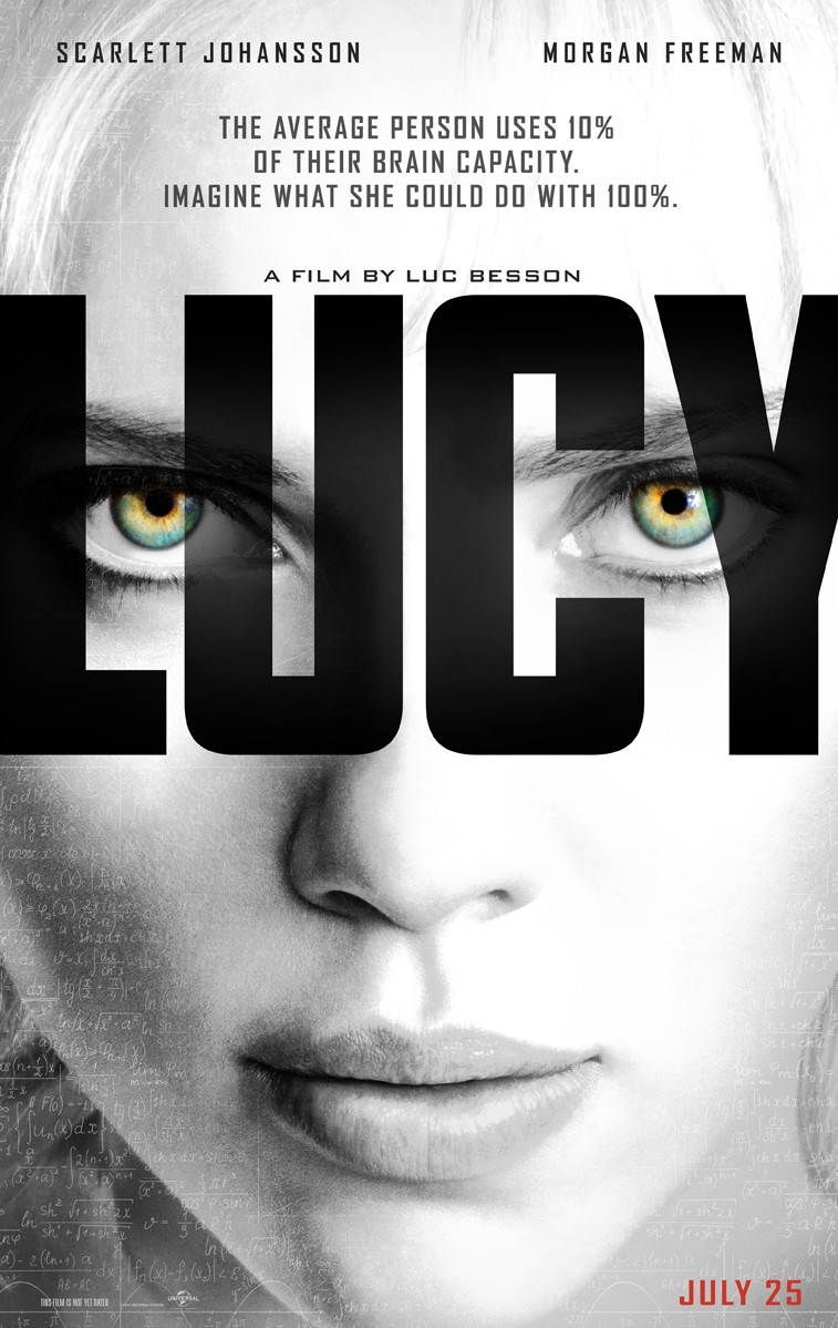Lucy poster, © 2014 Independent Films