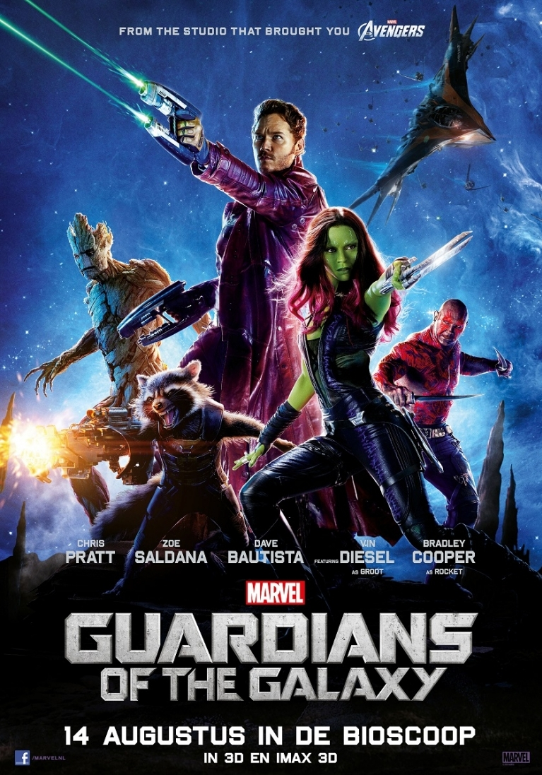 Guardians of the Galaxy poster, © 2014 Walt Disney Pictures