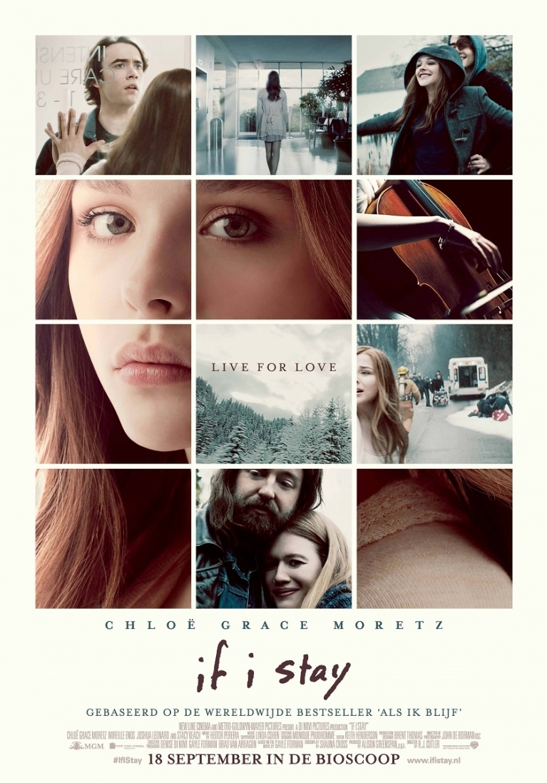If I Stay poster, © 2014 Warner Bros.
