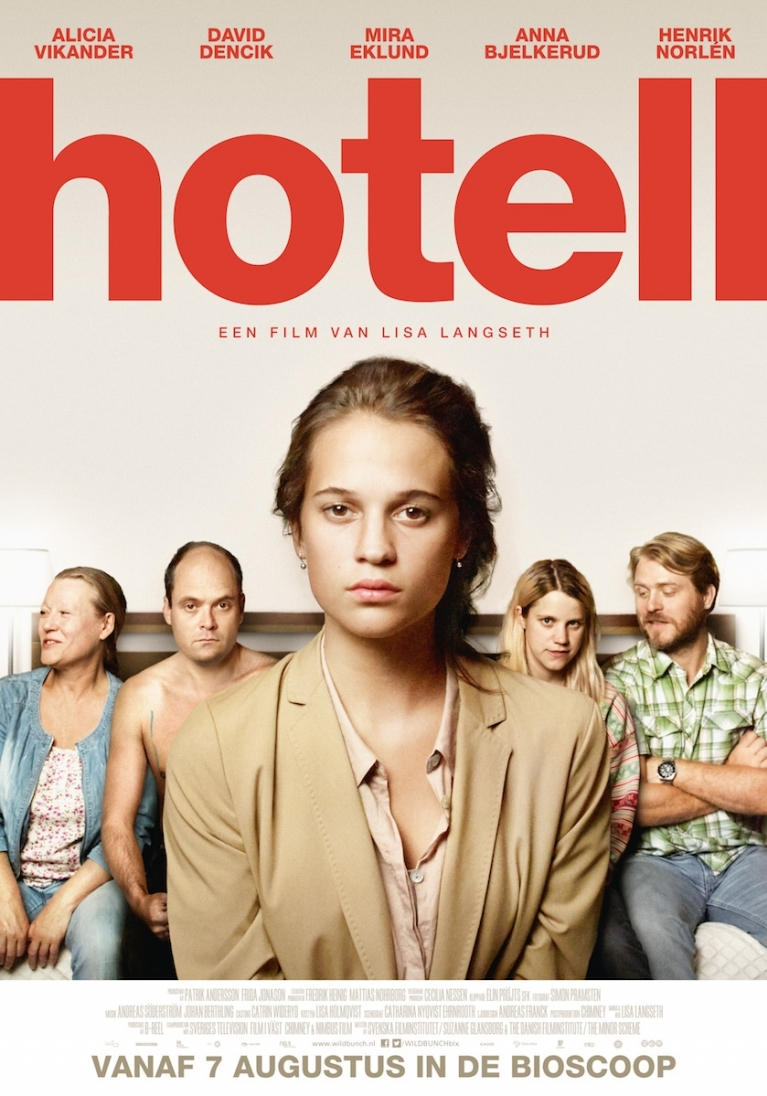Hotell poster, © 2013 Wild Bunch