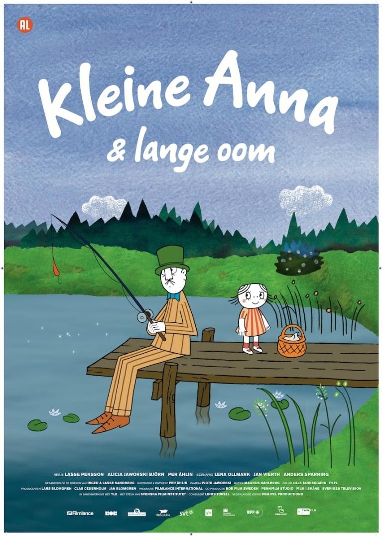 Lilla Anna och Långa farbrorn poster, © 2012 Twin Film