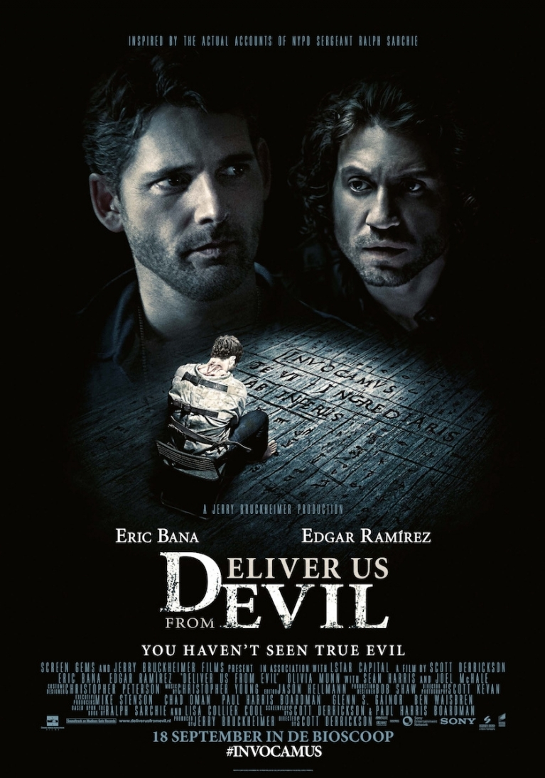 Deliver Us from Evil poster, © 2014 Universal Pictures