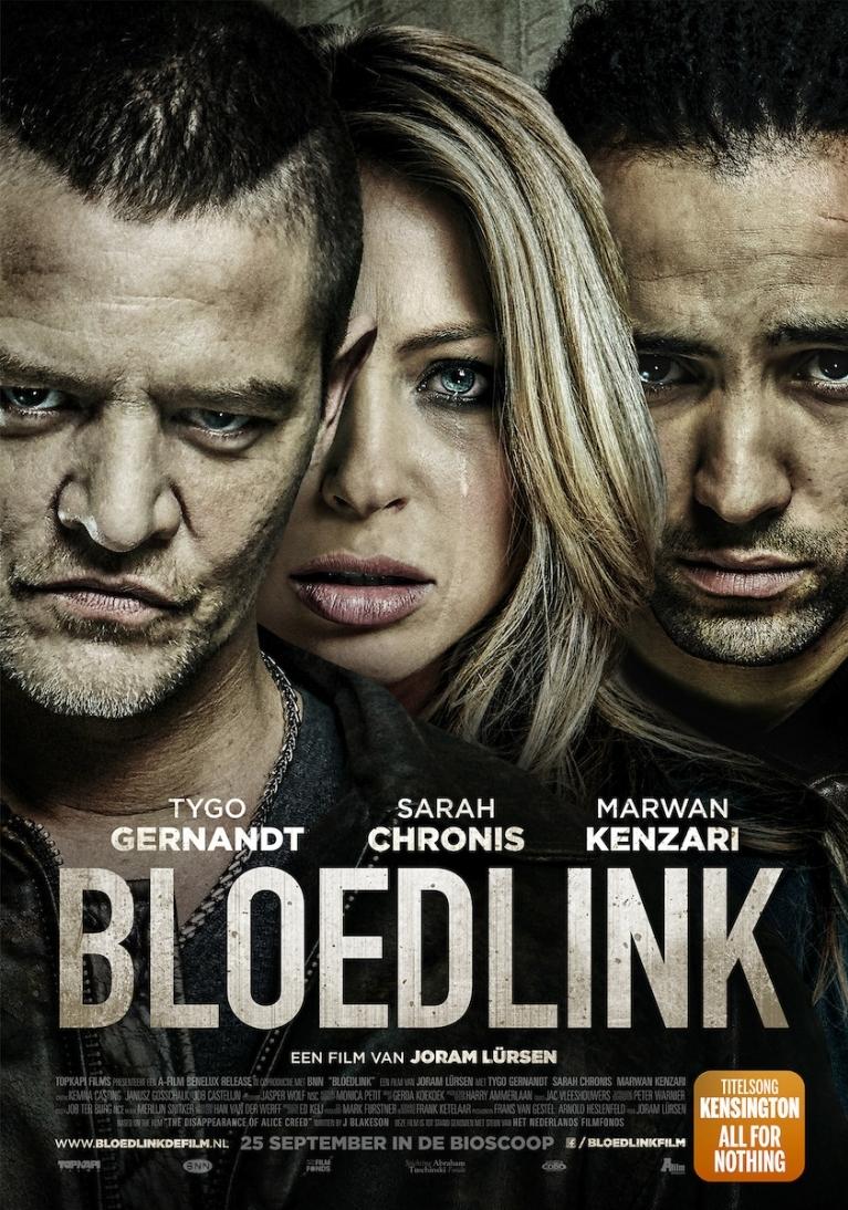 Bloedlink poster, © 2014 A-Film Distribution