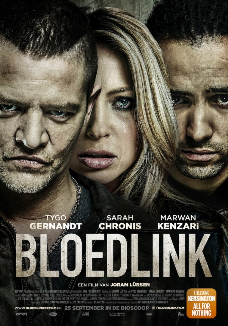 Bloedlink poster, © 2014 A-Film Distribution