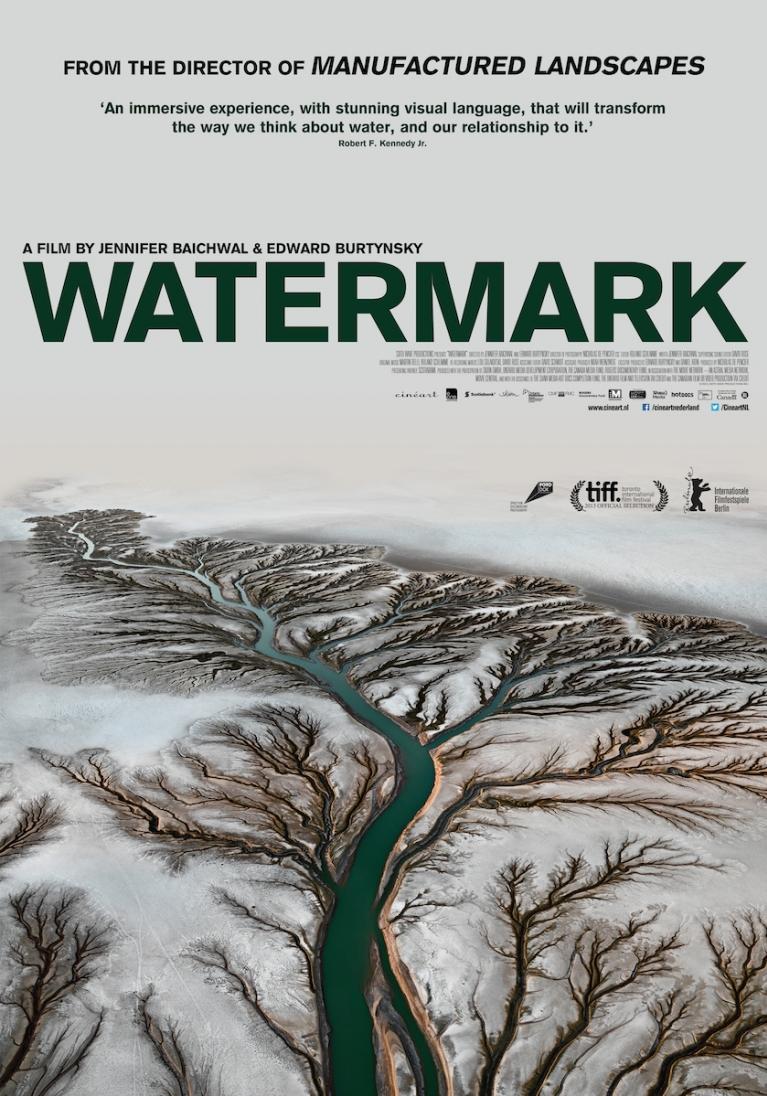 Watermark poster, © 2013 Cinéart