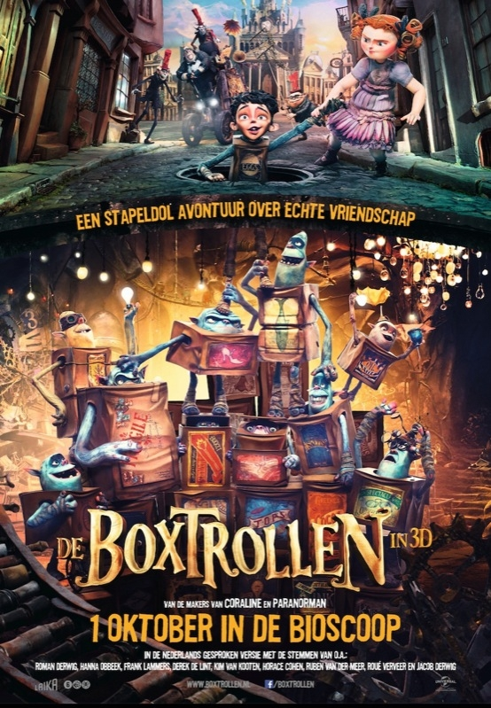 The Boxtrolls poster, © 2014 Universal Pictures