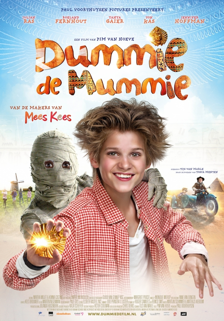 Dummie de Mummie poster, © 2014 Dutch FilmWorks
