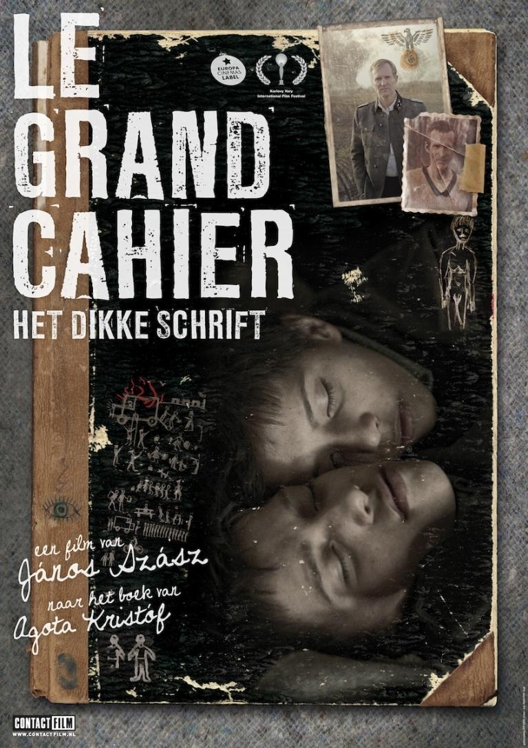 A nagy füzet poster, © 2013 Contact Film