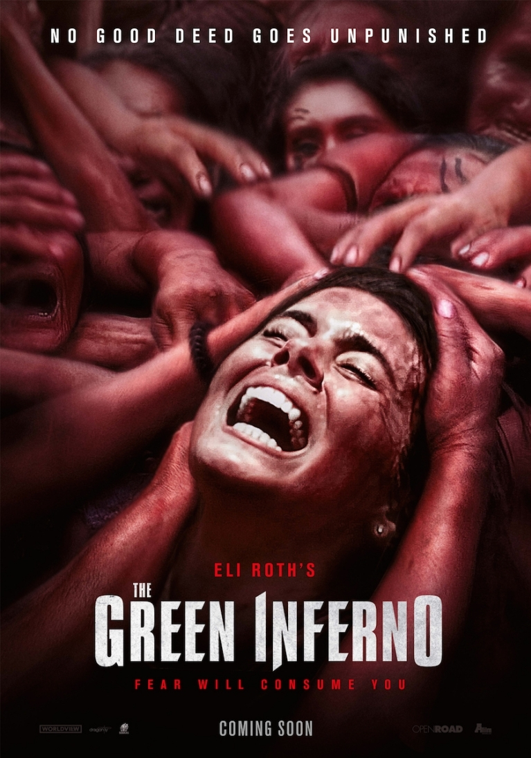 The Green Inferno poster, © 2013 A-Film Distribution