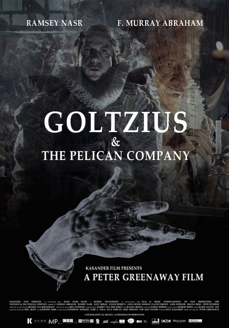 Goltzius and the Pelican Company poster, © 2012 A-Film Distribution