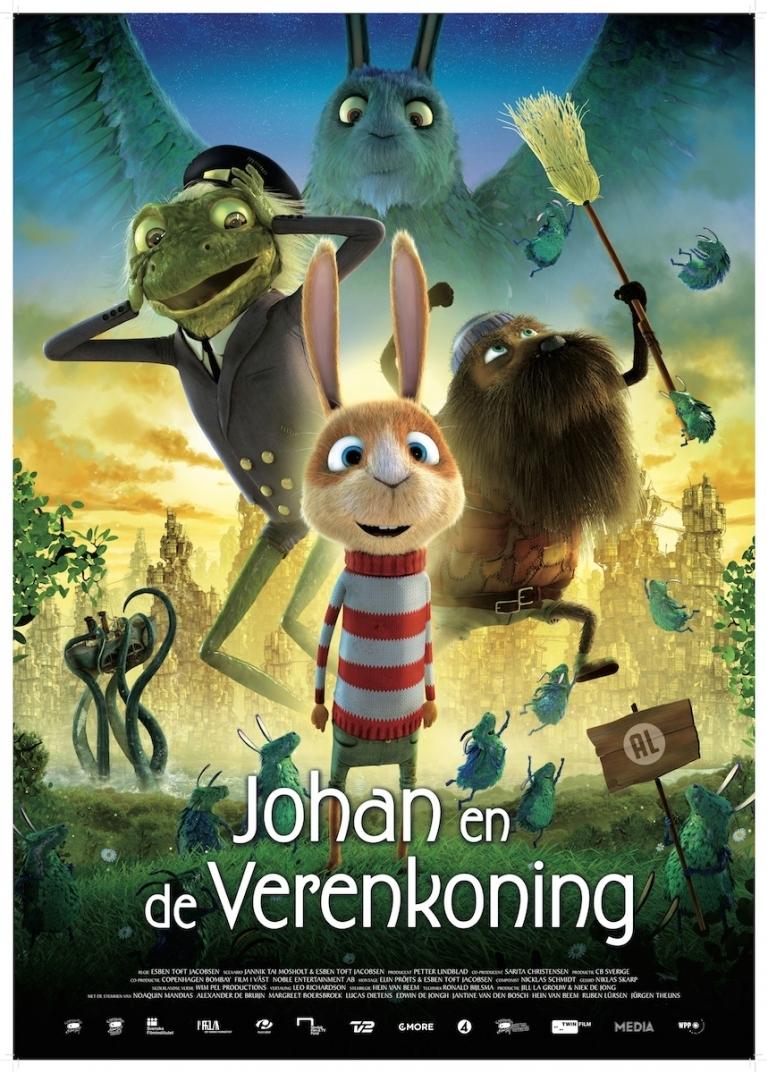 Johan en de Verenkoning poster, © 2014 Twin Film