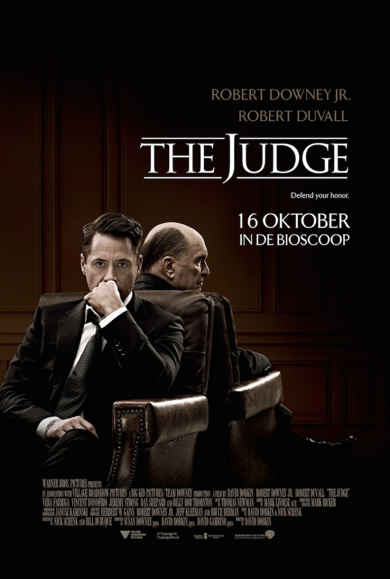 The Judge poster, © 2014 Warner Bros.