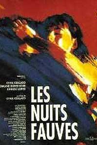 poster 'Les Nuits Fauves' © 1992 PolyGram Filmed Entertainment
