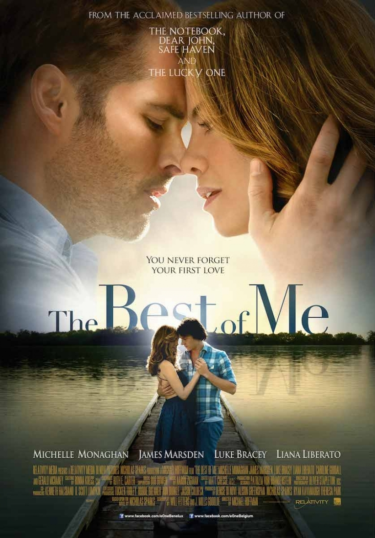The Best of Me poster, © 2014 E1 Entertainment Benelux