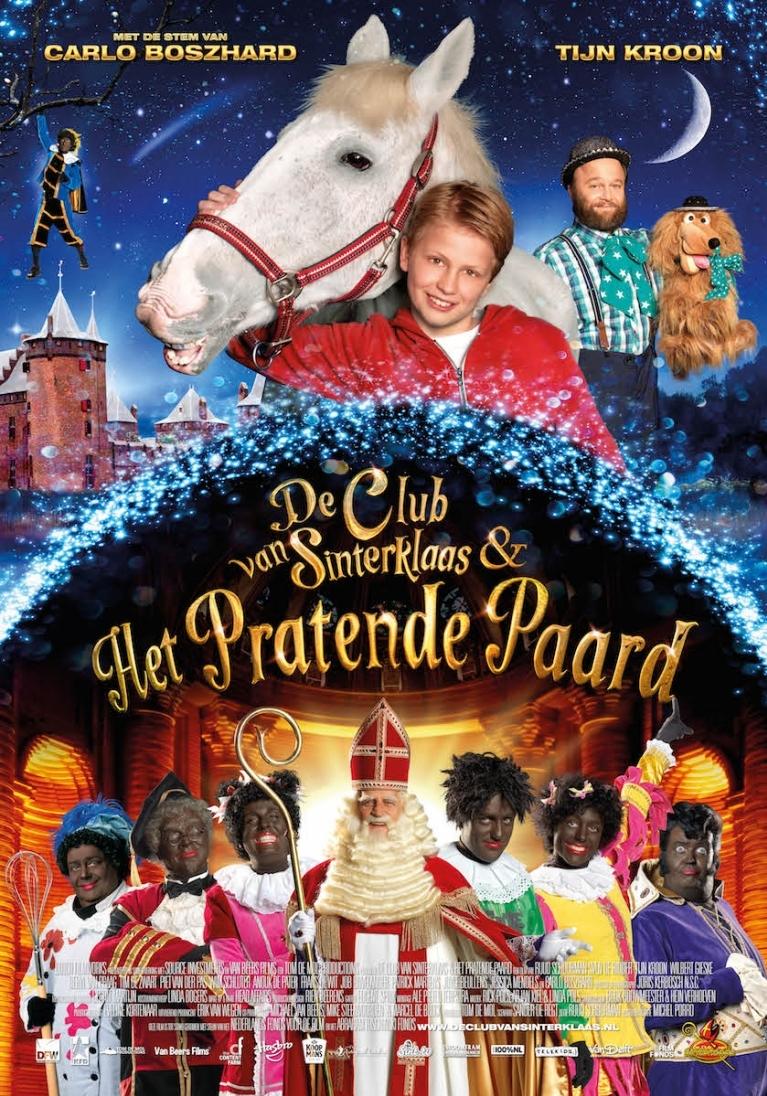 De Club van Sinterklaas & Het Pratende Paard poster, © 2014 Dutch FilmWorks