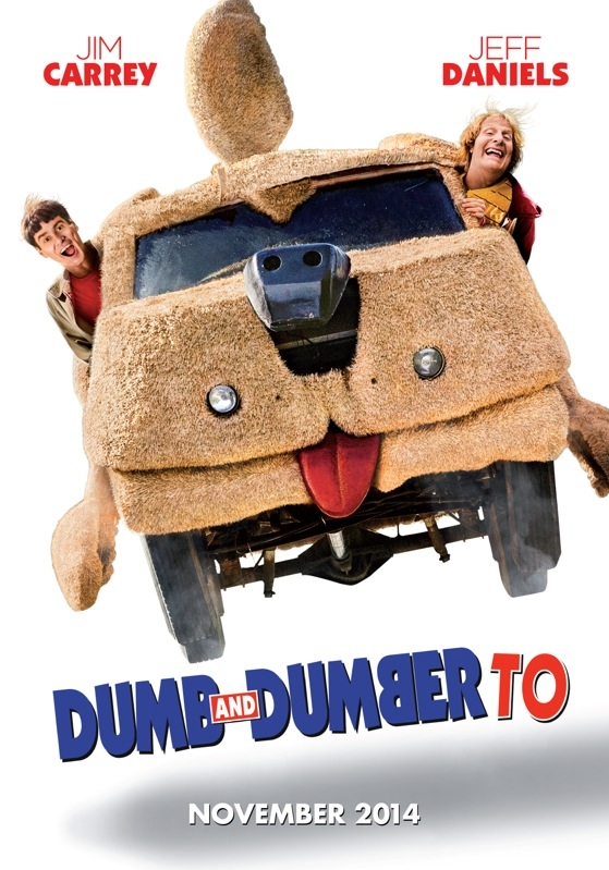 Dumb and Dumber To poster, © 2014 Dutch FilmWorks