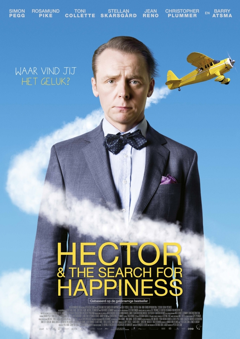 Hector and the Search for Happiness poster, © 2014 Imagine