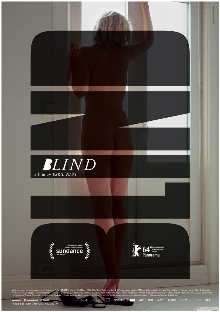 Blind poster, © 2014 Cinéart
