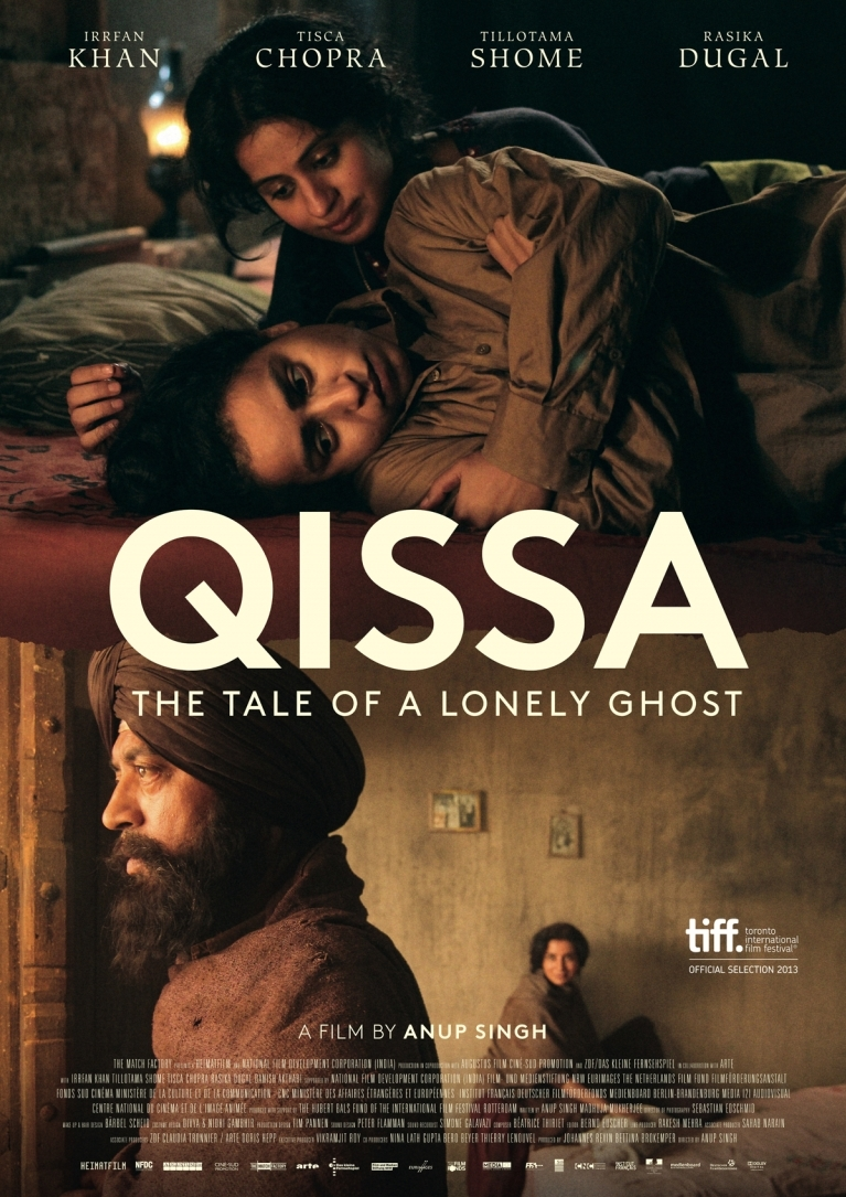Qissa: The Tale of a Lonely Ghost poster, © 2013 Just Film Distribution