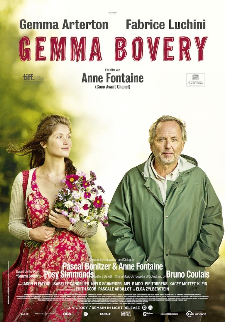 Gemma Bovery poster, © 2014 Filmfreak Distributie