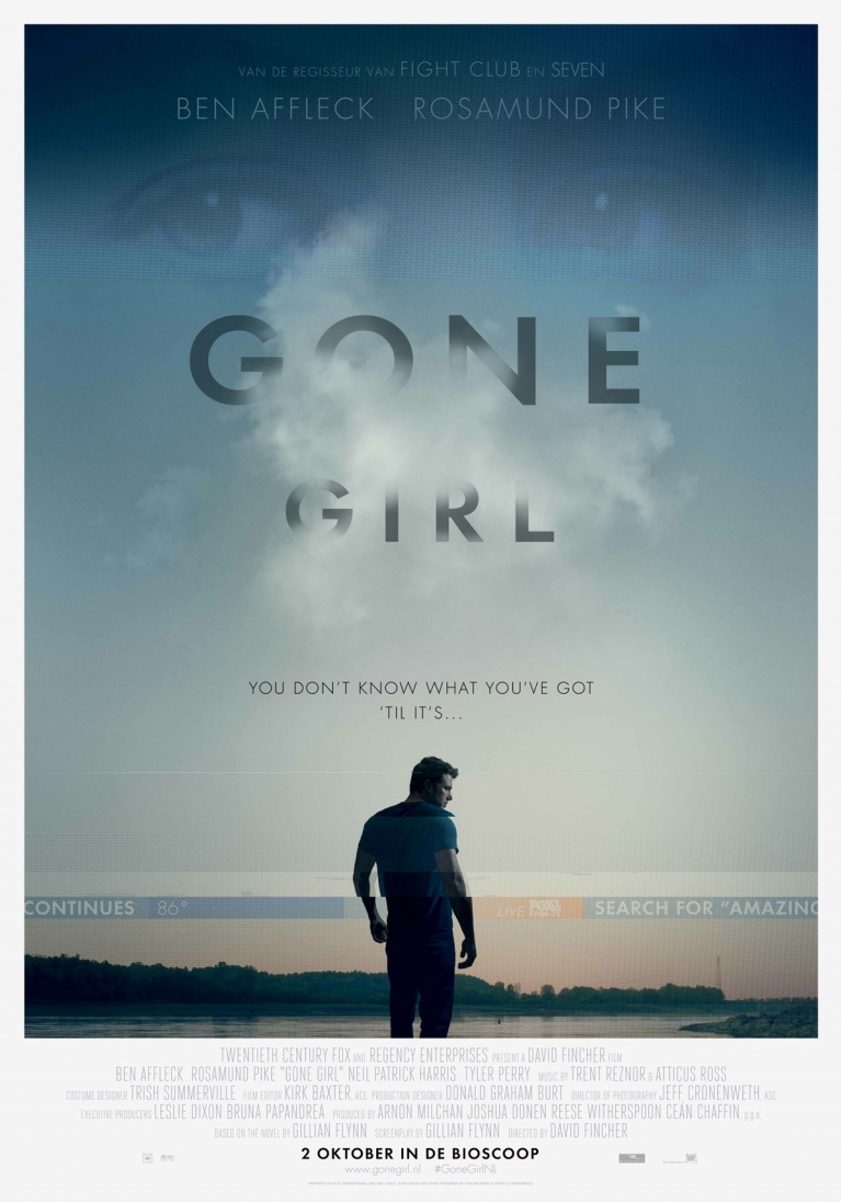 Gone Girl poster, © 2014 20th Century Fox
