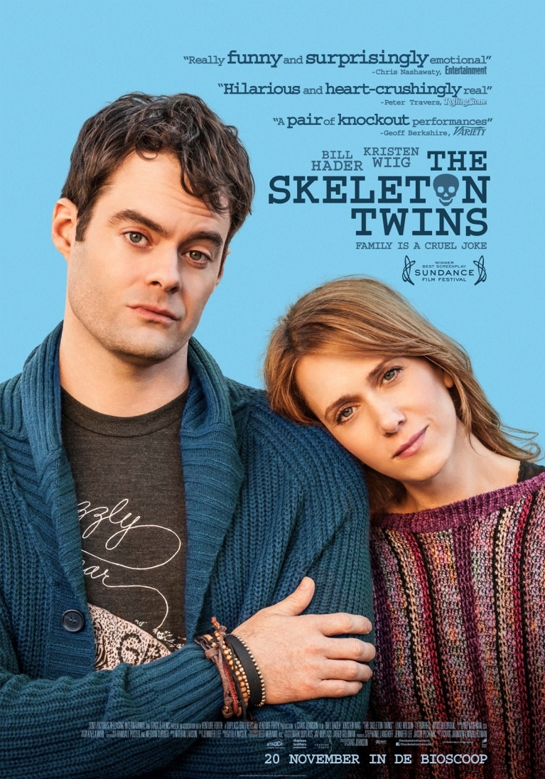 The Skeleton Twins poster, © 2014 Universal Pictures International