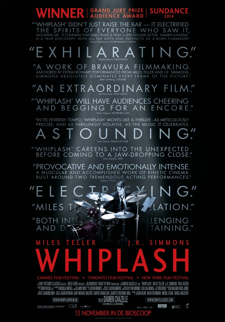 Whiplash poster, © 2014 Universal Pictures International