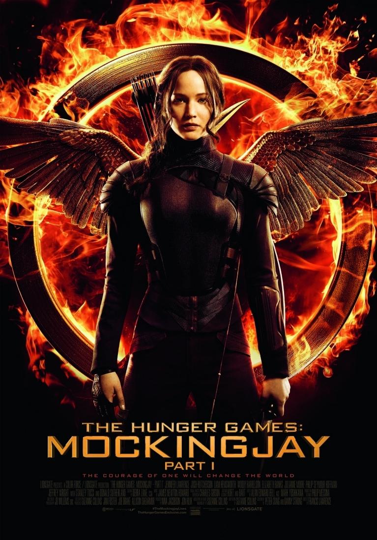 The Hunger Games: Mockingjay - Part 1 poster, © 2014 Independent Films