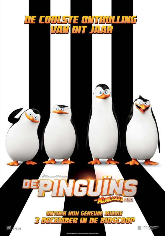 Penguins of Madagascar poster, © 2014 20th Century Fox