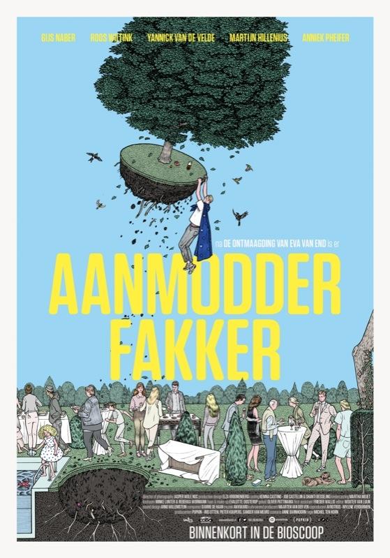 Aanmodderfakker poster, © 2014 September