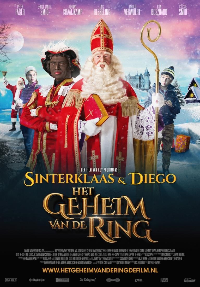 Sinterklaas & Diego: Het geheim van de ring poster, © 2014 E1 Entertainment Benelux