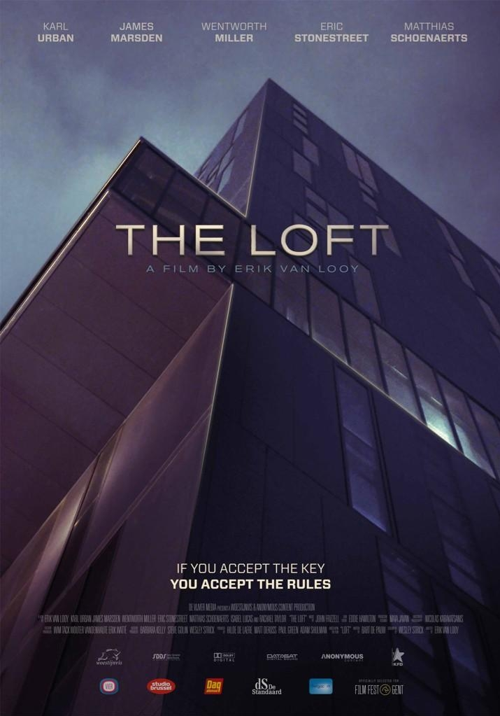 The Loft poster, copyright in handen van productiestudio en/of distributeur