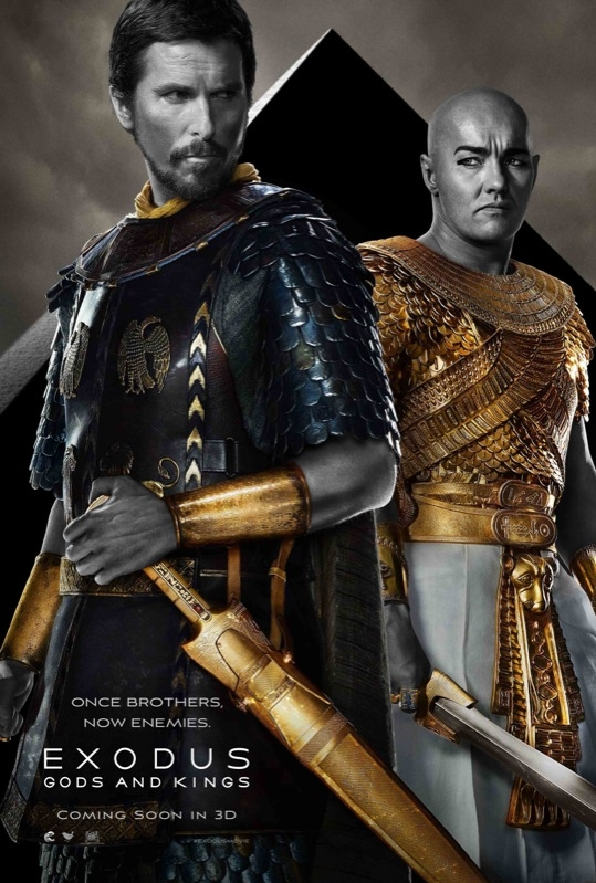 Exodus: Gods and Kings poster, © 2014 20th Century Fox