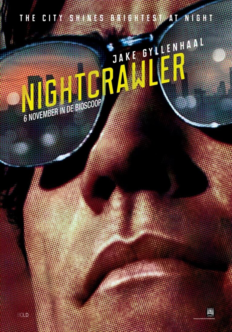 Nightcrawler poster, © 2014 Walt Disney Pictures