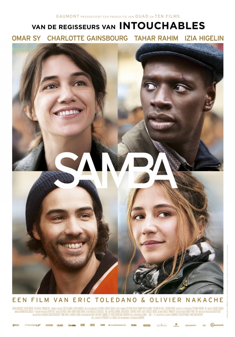 Samba poster, © 2014 Independent Films