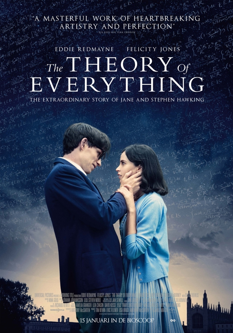 Theory of Everything poster, © 2014 Universal Pictures International