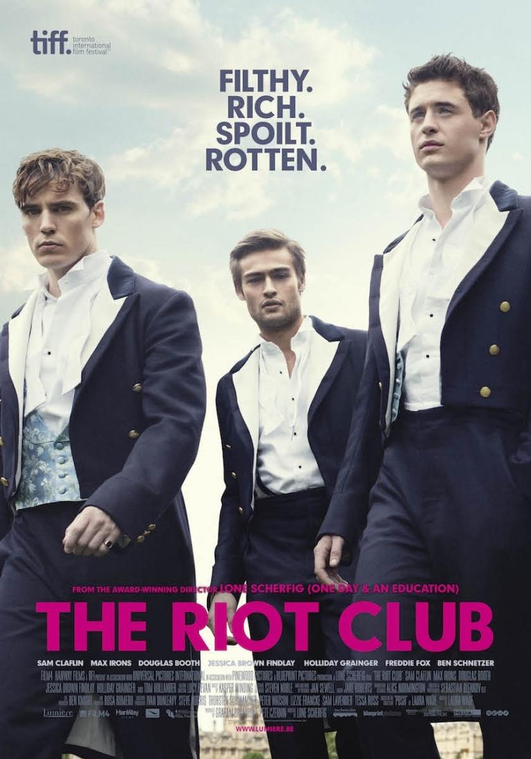 The Riot Club poster, © 2014 Lumière