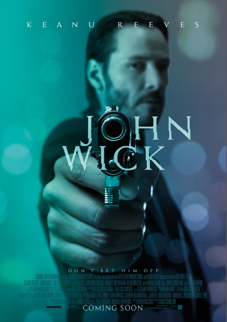 John Wick poster, © 2014 A-Film Distribution