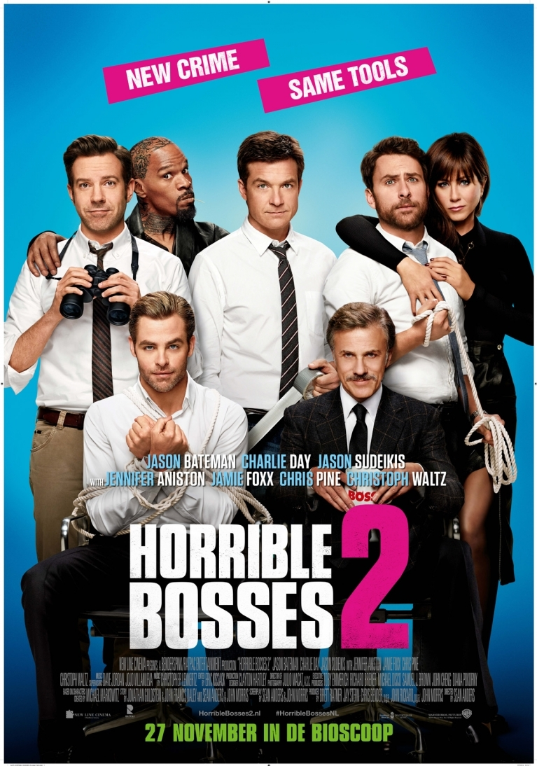 Horrible Bosses 2 poster, © 2014 Warner Bros.