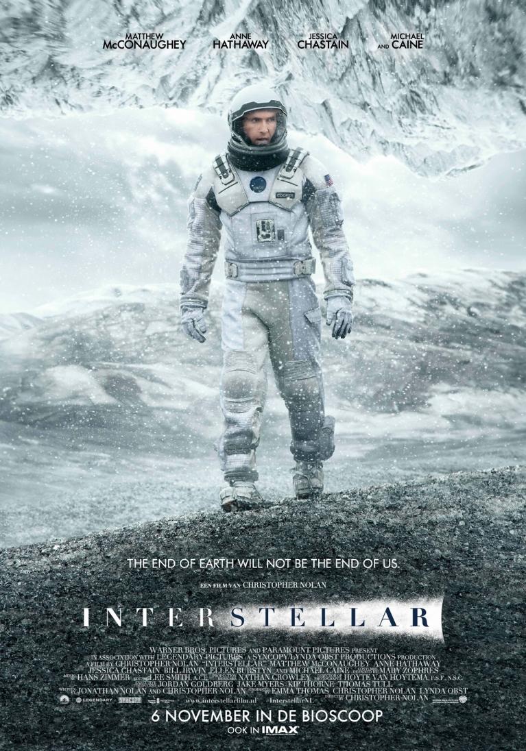Interstellar poster, © 2014 Warner Bros.